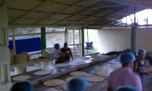 Casabe Factory tour by Jose