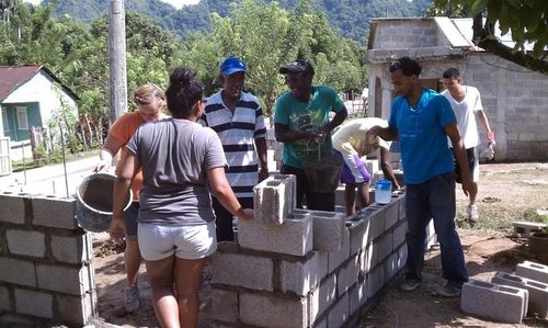 building blocks with the community, Photo by Jose