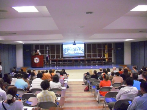 Screening of Girl Rising at PUCMMs Santiago Campus. Photo thanks to OEI